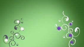 Animación del crecimiento floral libre illustration