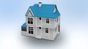 Animación del mercado inmobiliario stock de ilustración