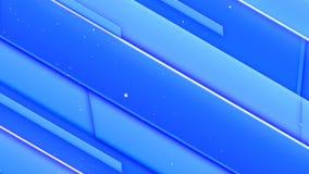 Animación del movimiento de líneas azules Fusión corporativa
