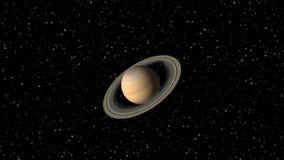 Animación del planeta Saturn libre illustration