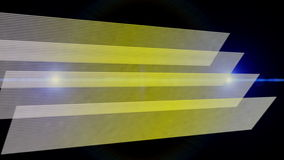 Animación fantástica con el objeto y la luz, lazo HD 1080p de la raya
