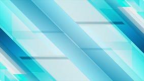 Animación geométrica azul clara del vídeo de la tecnología libre illustration