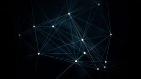 Animación geométrica generada por ordenador abstracta