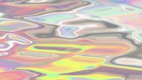 Animación líquida olográfica del fondo ilustración del vector