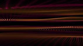 Animación maravillosa con el objeto móvil de la onda, lazo HD 1080p