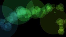 Animación maravillosa con las burbujas en el movimiento, lazo HD 1080p stock de ilustración