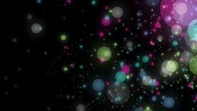 Animación maravillosa con las burbujas en la cámara lenta, 4096x2304 lazo 4K libre illustration