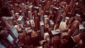Animación metropolitana del lazo de la ciudad libre illustration