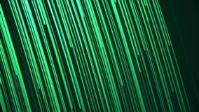Animación minimalista del fondo de rayas que fluyen de la luz con las líneas abstractas multicoloras Composición abstracta con libre illustration