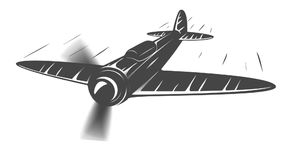 Animación plana con las líneas de la velocidad libre illustration