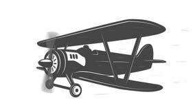 Animación plana con las líneas de la velocidad stock de ilustración