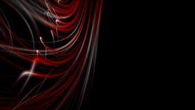 Animaci?n potente con el objeto de la raya y luz del centelleo en la c?mara lenta, 4096x2304 lazo 4K stock de ilustración