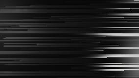 Animación que vuela rayas pálidas y líneas Fondo abstracto con la tecnología de las partículas del resplandor Mosca colorida de l stock de ilustración