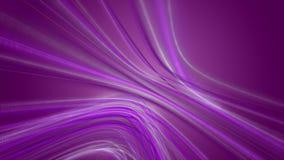 Animación romántica con el objeto de la raya de la partícula que brilla intensamente en la cámara lenta, 4096x2304 lazo 4K