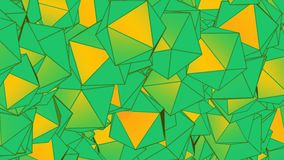 Animación verde del extracto del fondo stock de ilustración