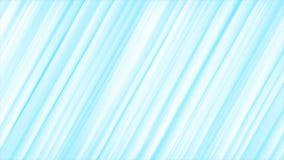 Animación video abstracta de las rayas azules claras