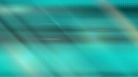 Animación video brillante de las rayas lisas del extracto que brilla intensamente