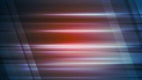 Animación video de la tecnología con las rayas que brillan intensamente