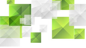 Animación video gris del verde futurista abstracto de la tecnología