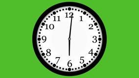 animación video 4K del reloj loopable libre illustration