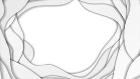 Animación video ondulada corporativa abstracta gris