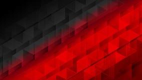 Animación video pixelated poligonal geométrica roja negra