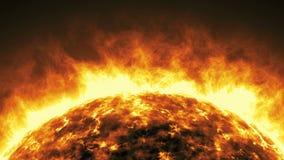 Animación viva 03 del sol stock de ilustración