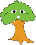 Animaci drzewo Zdjęcie Royalty Free