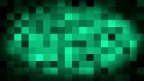 Animaci?n pixelated Animated del fondo 3d del arte del lazo stock de ilustración
