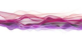 Animaci?n rom?ntica con el objeto de la onda en la c?mara lenta, 4096x2304 lazo 4K almacen de video