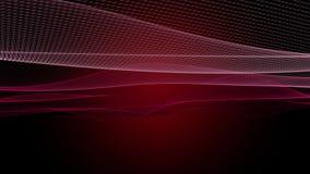Animaci?n rom?ntica con el objeto de la onda de la part?cula en la c?mara lenta, 4096x2304 lazo 4K libre illustration