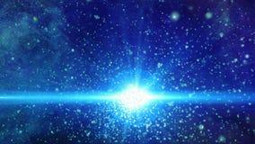 Animacja galaxy i gwiazdy royalty ilustracja
