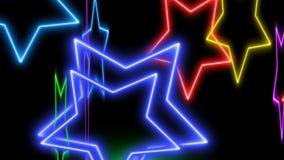 Animacja laser wykłada chodzenie niekonsekwentnie ilustracja wektor