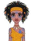 Animacja portret dziewczyna Amazon Zdjęcie Royalty Free
