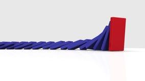 Animacja przedstawia domino ilustracji