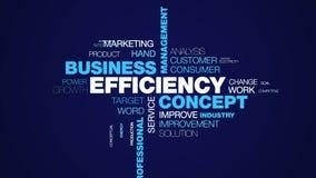 Animado eficiente profesional del éxito del funcionamiento de la tecnología de la estrategia de la calidad de la gestión de negoc imagen de archivo libre de regalías
