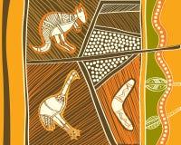 Animais aborígenes Foto de Stock
