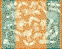 Animais aborígenes Fotos de Stock Royalty Free