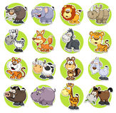 Animais ajustados Imagem de Stock Royalty Free
