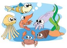Animais aquáticos Imagens de Stock