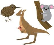 Animais australianos Fotos de Stock Royalty Free