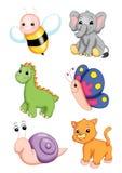 Animais bonitos Imagem de Stock