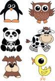 Animais bonitos Imagens de Stock Royalty Free