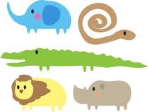 Animais bonitos da selva Imagens de Stock