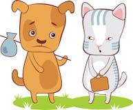 Animais de estimação desabrigados Foto de Stock
