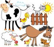 Animais de exploração agrícola. Fotografia de Stock Royalty Free