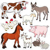 Animais de exploração agrícola. ilustração royalty free