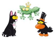 Animais de Halloween ilustração do vetor