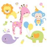 Animais de partido Fotos de Stock