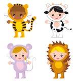 Animais do bebê Foto de Stock Royalty Free
